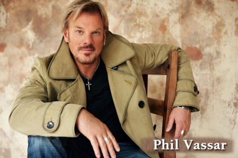 Country singer Phil Vassar to headline Heroes, Hometowns and Legends Series September 14th - 16th.