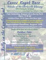 """Rally on the Cumberland"" Canoe and Kayak Race"