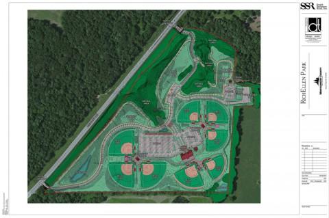 A rendering of the RichEllen Park