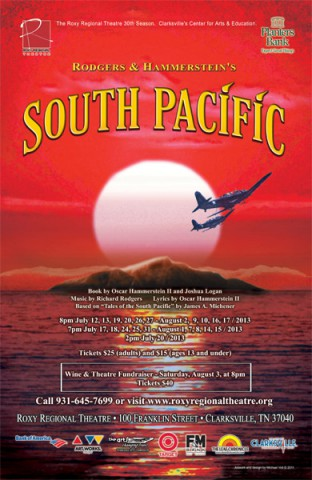 South Pacific at the Roxy Regional Theatre