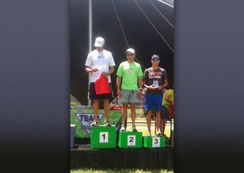 Russ Shemberger Music City Triathlon - 3rd place finish
