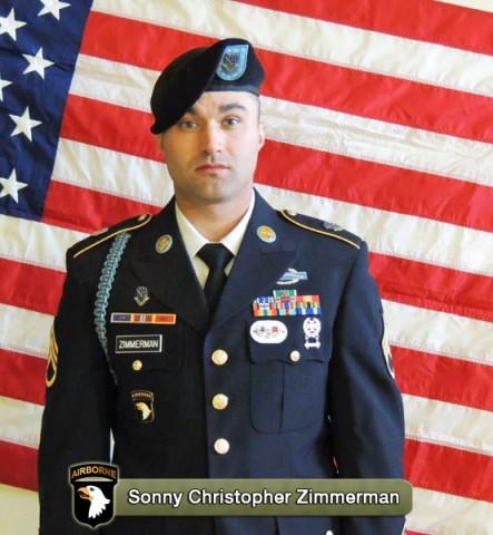 Staff Sergeant Sonny Christopher Zimmerman