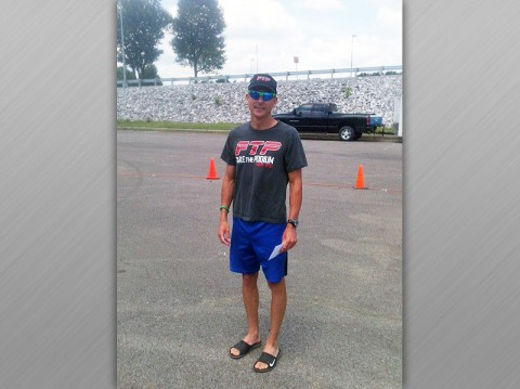 Russ Shemberger wins Triathlon in West Kentucky