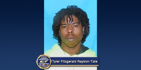 TBI Top Ten Most Wanted Tyler Fitzgerald Raybon-Tate captured in Nashville, TN.