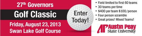 2013 APSU Governors Golf Classic