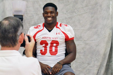 Austin Peay State University Football Media Day. (Brittney Sparn/APSU Sports Information)