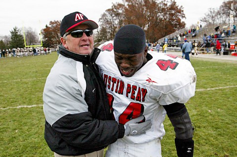 Former APSU Football Coach Bill Schmitz. (Robert Smith/The Leaf-Chronicle)