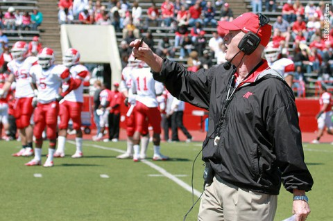 Austin Peay Football Coach Kirby Cannon. (Courtesy: Brittney Sparn/APSU Sports Information)
