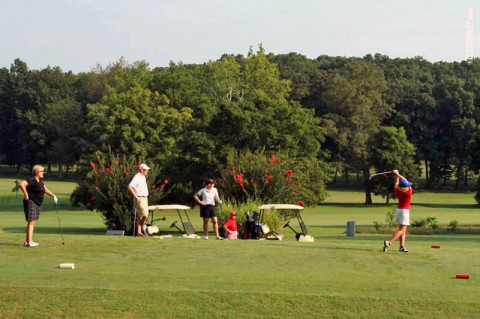 APSU Governor's Golf Classic-Swan Lake Golf Course. (APSU Sports Information)