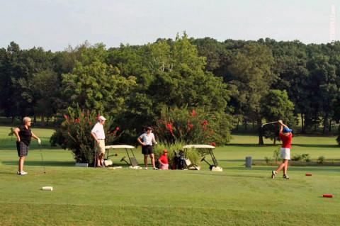 APSU Governor's Golf Classic-Swan Lake Golf Course. (APSU Sports Information)