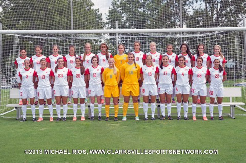 2013 Austin Peay Lady Govs Soccer Team
