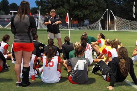 Austin Peay Lady Govs Soccer. (Brittney Sparn/APSU Sports Information)
