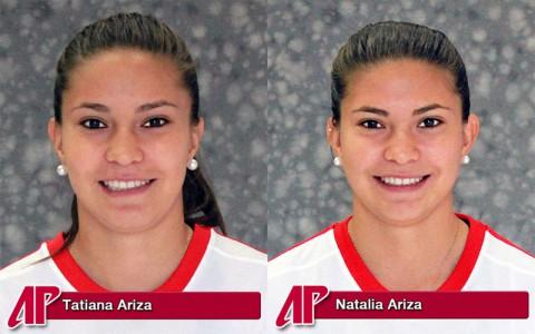 APSU Soccer's Tatiana Ariza and Natalia Ariza