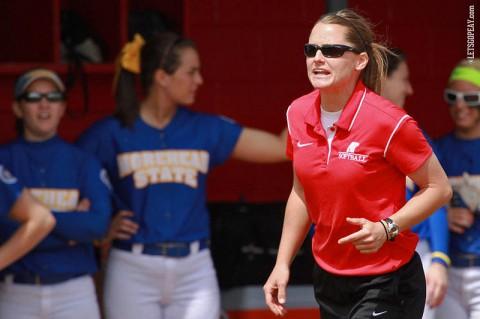 Austin Peay Softball Coach Stephanie Paris. (Courtesy: Brittney Sparn/APSU Sports Information)