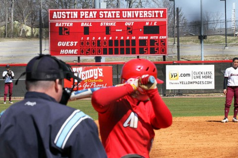 Austin Peay Women's Softball. (APSU Sports Information)