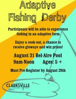Adaptive Fishing Derby