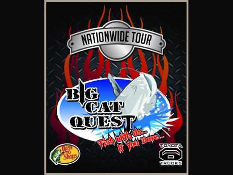 Bass Pro Shop's Big Cat Quest at McGregor Park this Saturday.