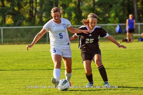 Clarksville Academy vs Kenwood High School Girls Soccer
