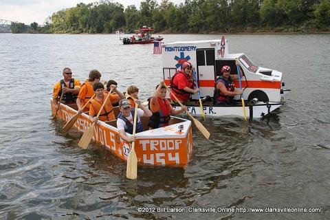 Clarksville's Riverfest Regatta
