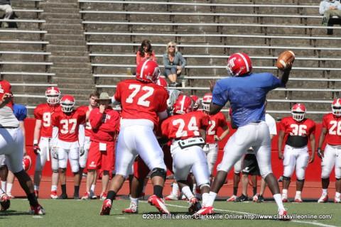 APSU Football Practice