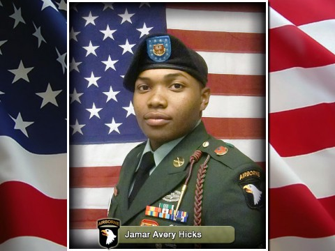 Sgt. Jamar Avery Hicks