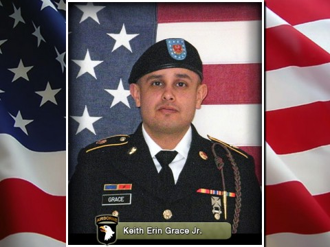 Spc. Keith Erin Grace Jr.