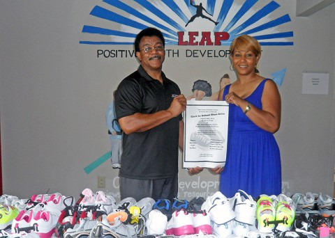 LEAP Back to School Shoe Drive