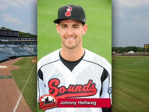 Nashville Sounds' Johnny Hellweg
