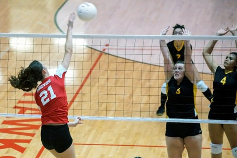 Rossview vs Kenwood Volleyball. (Michael Rios - Clarksville Sports Network)