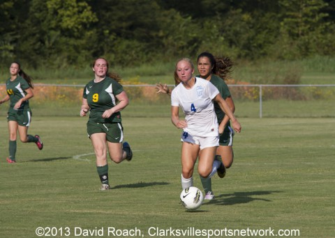 Clarksville Academy Soccer vs. Northwest High School
