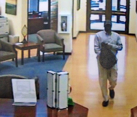 Capital Bank Robbery Suspect.