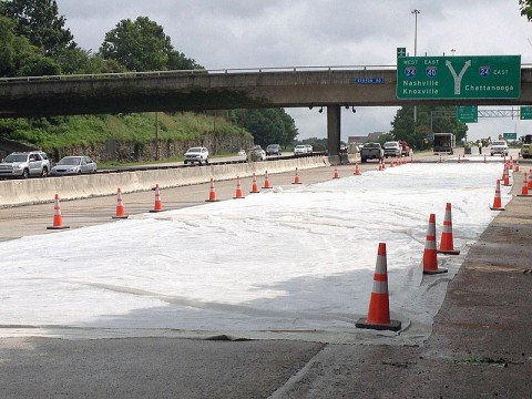 TDOT to halt Construction and Lane Closures on interstates for Independence Day Holiday. (Tennessee Department of Transportation)