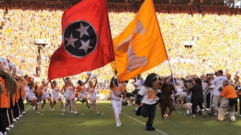 Neyland Stadium Knoxville Tennessee. (UT Sports)