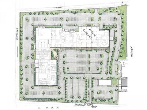 Montgomery County Veteran's Plaza Parking Lot Renovation Project.