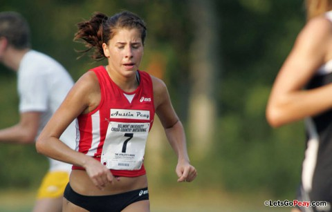 Austin Peay Women's Cross Country. (Keith Dorris/Dorris Photography)