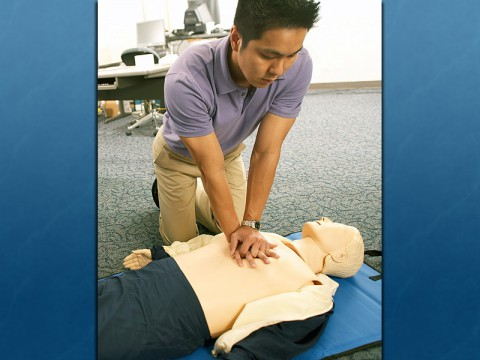 Hands On CPR. (American Heart Association)