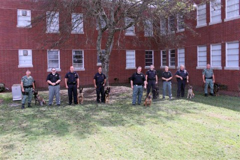 Tennessee Highway Patrol graduates Seven Canine Teams trained in Explosive Detection