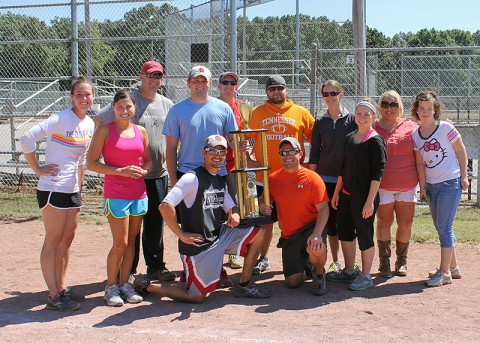 "US Bank is the winner of this years Clarksville Young Professionals ""Give A Kick"" Kickball Tournament"