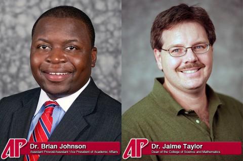 APSU's Dr. Brian Johnson and Dr. Jaime Taylor
