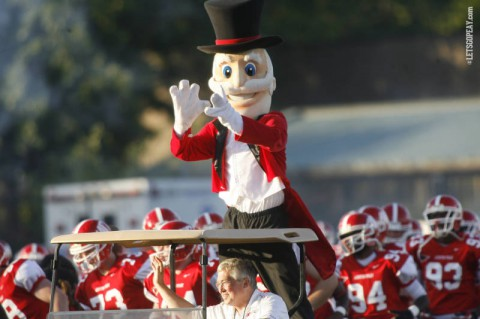 Austin Peay Football pregame tailgate at Logan's Roadhouse in Nashville Saturday. (APSU Sports Information)