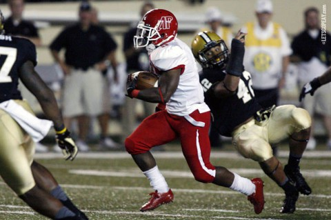 Austin Peay Football Running Back Tim Phillips. (APSU Sports Information)