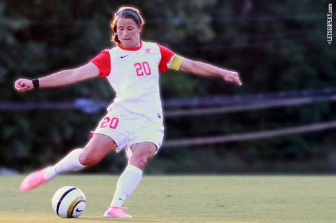 Emily Kink, Austin Peay Women's Soccer. (Brittney Sparn/APSU Sports Information)