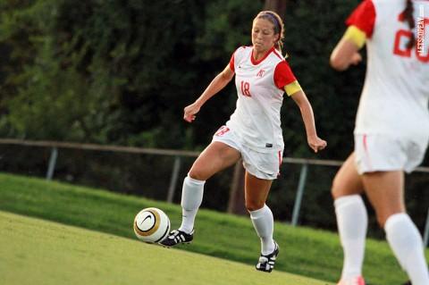 Austin Peay Soccer. (Brittney Sparn/APSU Sports Information)