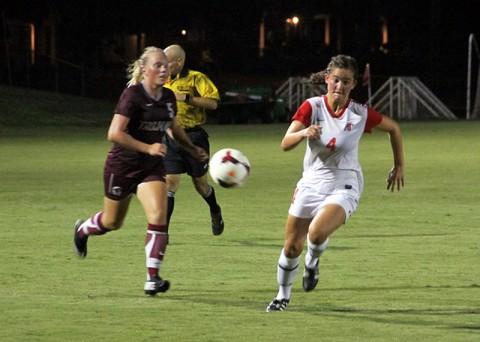 Austin Peay Lady Govs Soccer's Gina Fabbro. (Bill Larson - Clarksville Sports Network)