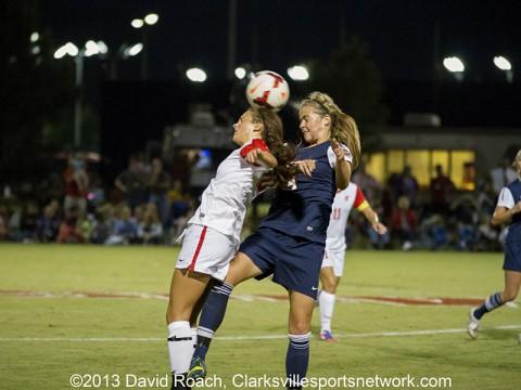 Austin Peay Women's Soccer vs UT Martin