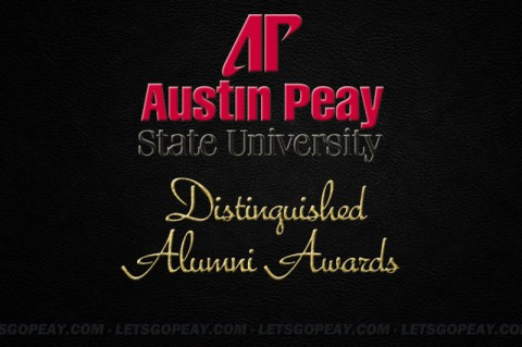 Austin Peay State University Alumni Awards. (APSU Sports Information)
