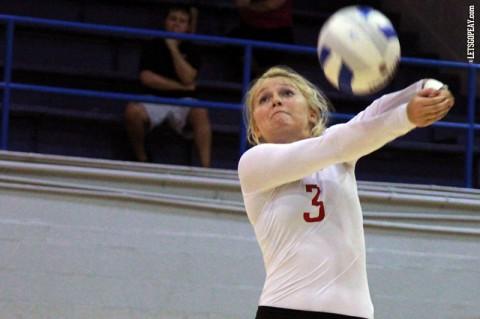 Austin Peay Women's Volleyball. (Brittney Sparn/APSU Sports Information)