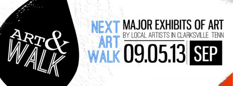 September Art Walk To Be Held on September 5th