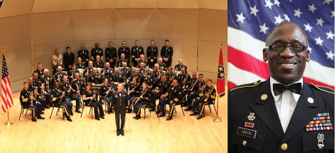 129th Army Jazz Band with 1st Sergeant Richard Griffin