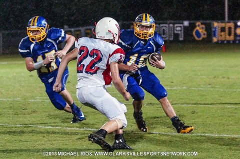 Clarksville Academy Football vs. McEwen